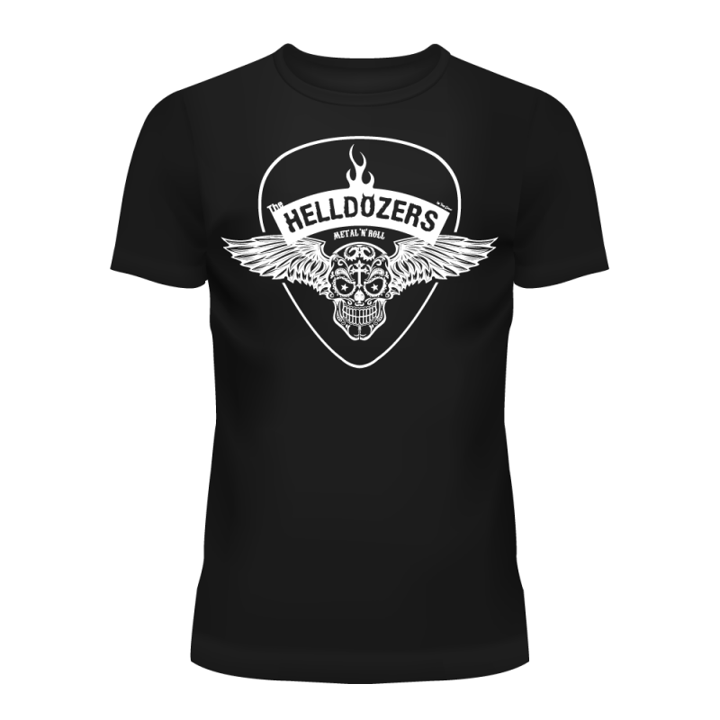 The Helldozers Wings T-Shirt Men's Black