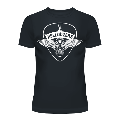 The Helldozers Wings T-Shirt Men's Grey
