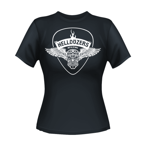 T-Shirt Wings Women's Grey