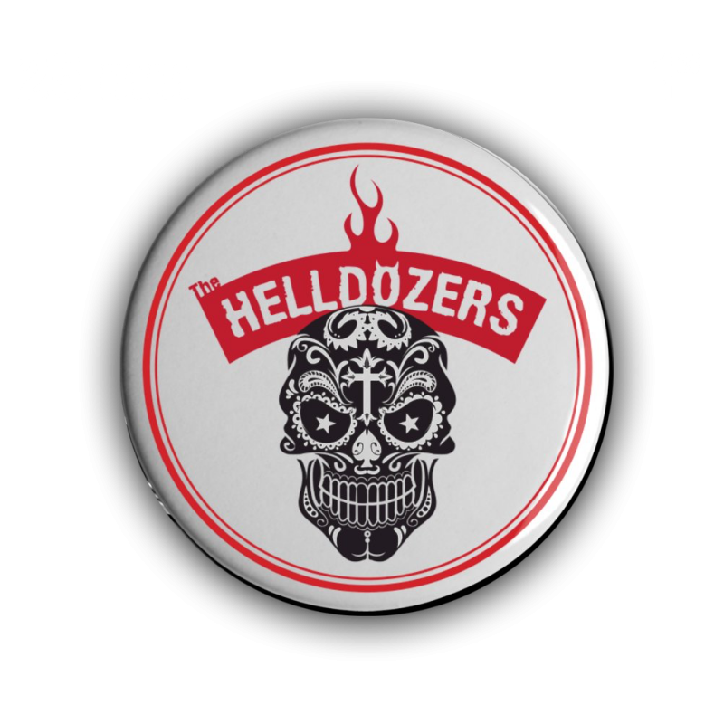 The Helldozers Button 25 mm