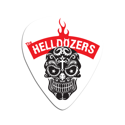 The Helldozers Plectrum